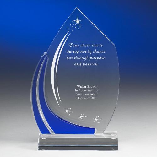 True Star Acrylic Award