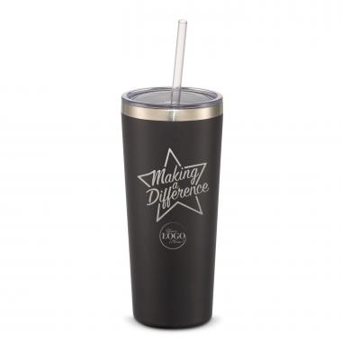 The Joe Straw - Making a Difference Star 20oz. Stainless Steel Tumbler