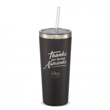 The Joe Straw - Thanks for Being Awesome 20oz. Stainless Steel Tumbler
