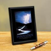 Innovation Lightning Framed Desktop Print Corporate Impression (735281), Corporate Impressions
