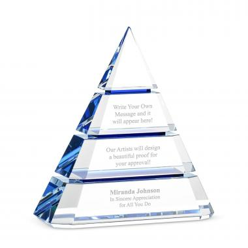 Sapphire Prism Pyramid
