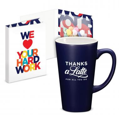 Thanks a Latte Mug & Candy Gift Set