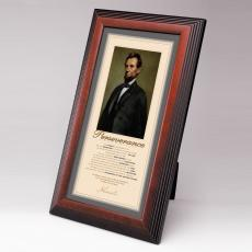 Shop by Type - Lincoln Perseverance Framed Desktop Print