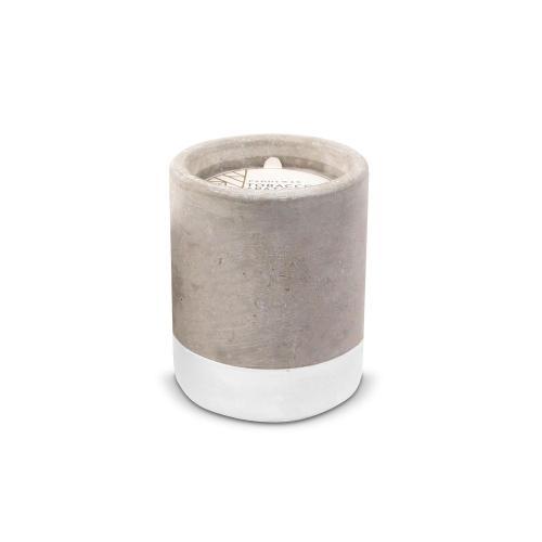 Tobacco & Patchouli Personalized Concrete Candle