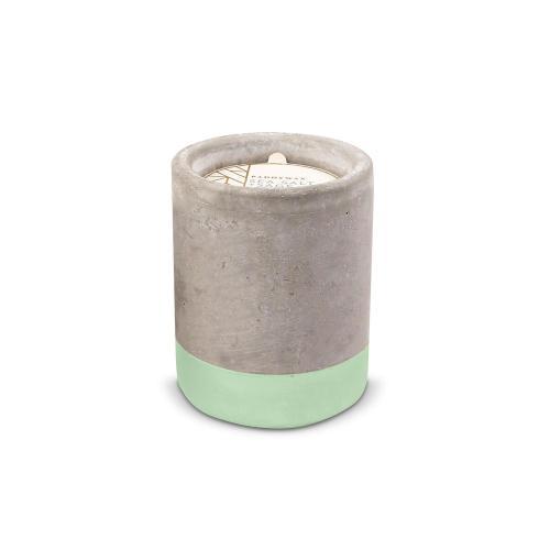 Sea Salt & Sage Personalized Concrete Candle