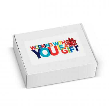 Gift Box - Working With You is a Gift Bow