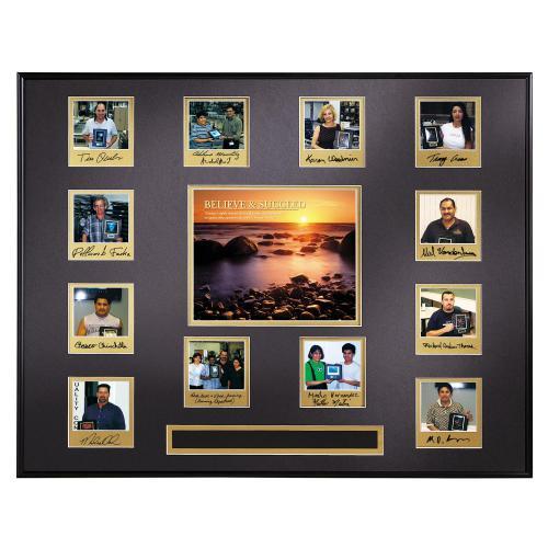 Believe & Succeed Photo Perpetual Award Plaque