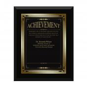 Ebony Achievement Award Plaque Classic (739156)