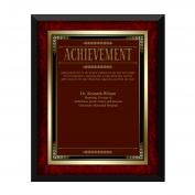 Rosewood Achievement Award Plaque (739159)
