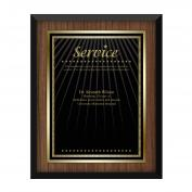 Walnut Service Award Plaque  (739163), 7