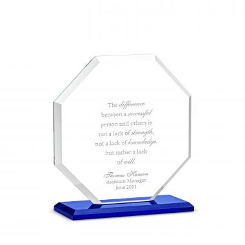 Octa Dais Crystal Award