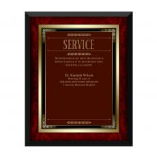 Shop by Occasion - Rosewood Service Award Plaque