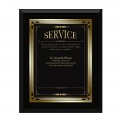 Ebony Service Award Plaque <span>(739157)</span> Classic (739157)