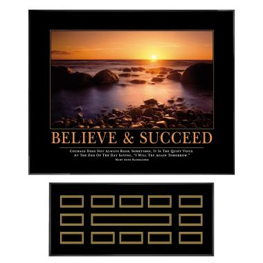 Believe & Succeed Recognition Award Program