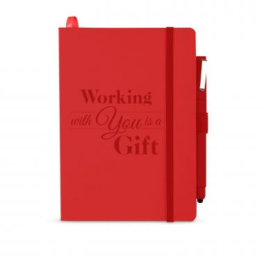 Working With You is a Gift Soft Bound Journal