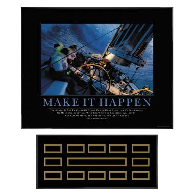 Make It Happen Sailing Recognition Award Program
