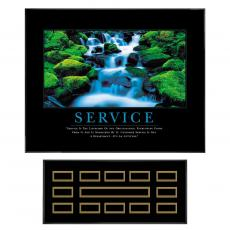 Service Waterfall Recognition Award Program