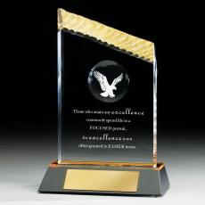 Colored Acrylic Awards - Eagle Iceberg Acrylic Award