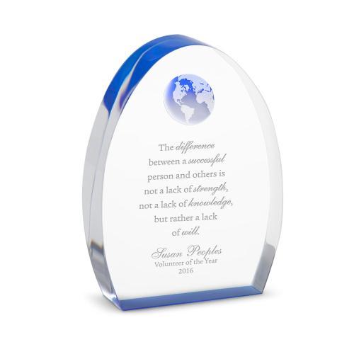 World of Gratitude Acrylic Award