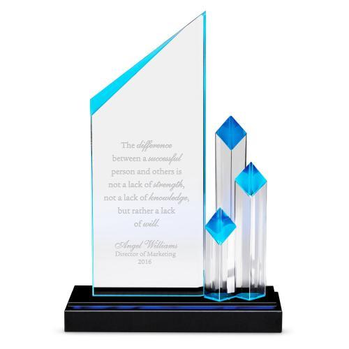 Towering Achievement Acrylic Award