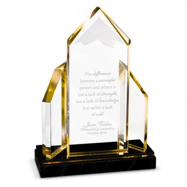 Reflecting Achievement Acrylic Award - Excellence