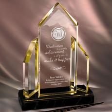 Colored Acrylic Awards - Reflecting Achievement Acrylic Award - Teamwork