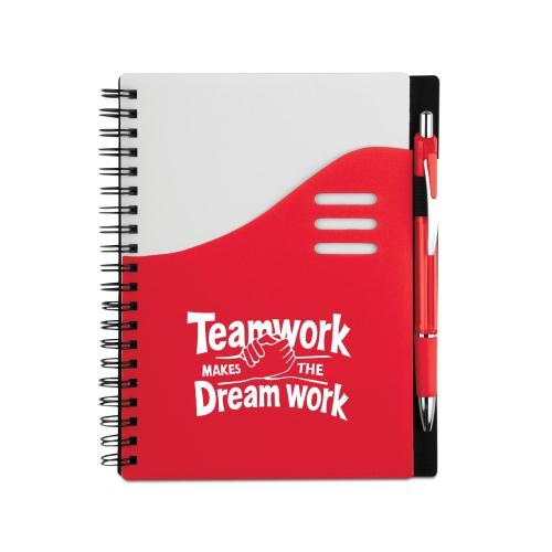 Teamwork Dream Work Perfect Notebook