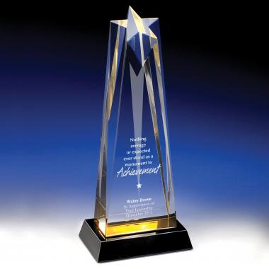 Aspire Star Tower Acrylic Award