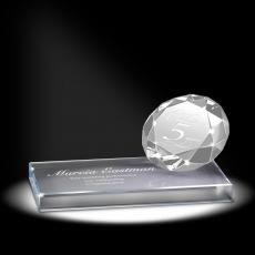 Crystal Awards - Diamond Sparkling Performance Service Award