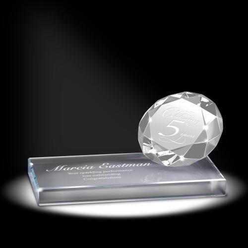 Diamond Sparkling Performance Service Award