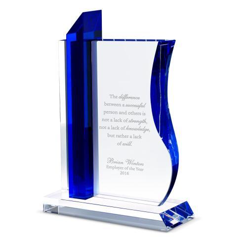 Spirit of a Leader Crystal Award
