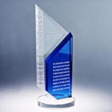 Colored Glass and Crystal Awards - Power to Achieve Glass Award
