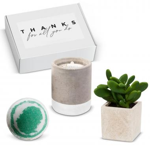 Spa Gift Box - Tobacco & Patchouli