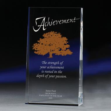 Nature of Achievement Crystal Award