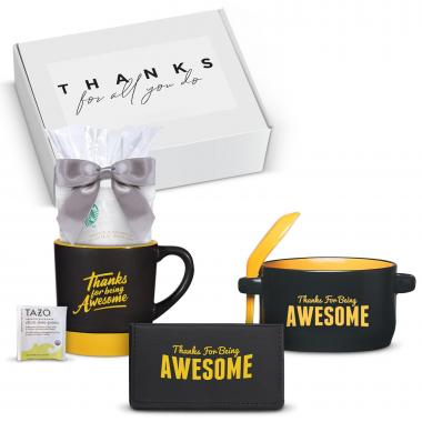 Thanks for Being Awesome Ceramic Gift Box