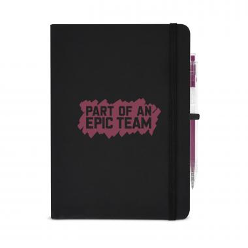 Epic Team Metallic Rugged Notebook