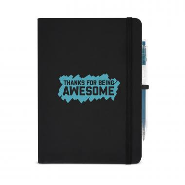 Thanks for Being Awesome Metallic Rugged Notebook