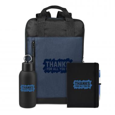 Thanks for All You Do Rugged Active Backpack Set