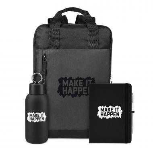 Make It Happen Rugged Active Backpack Set