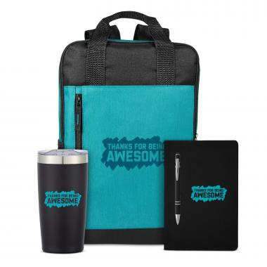 Thanks for Being Awesome Rugged Active Backpack Set