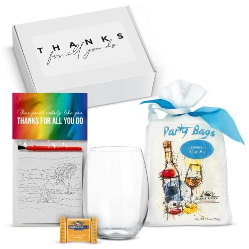 Wine & Paint Gift Box