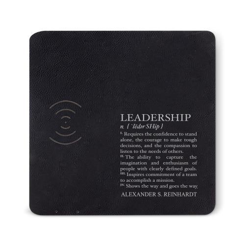 Leadership Definition Charging Mousepad