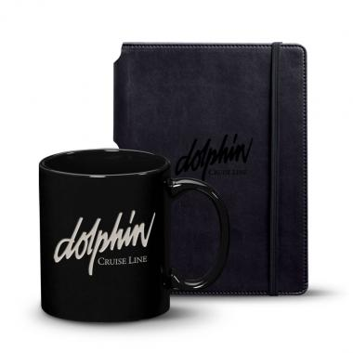 Eccolo® Tempo Journal/Malibu Mug Set