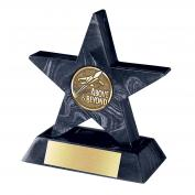 Black Mini Star with Base Award  (758598)