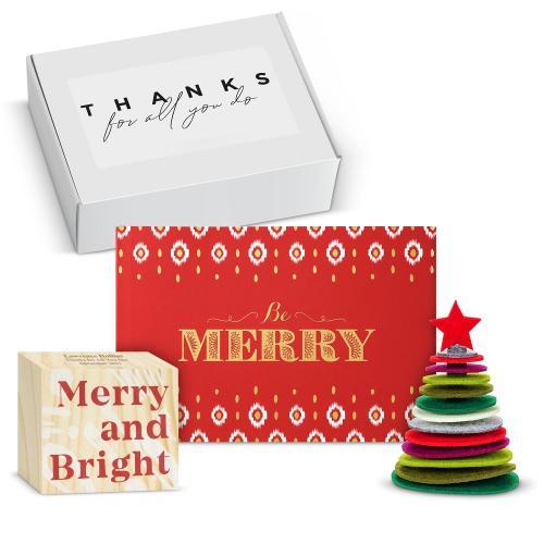 Be Merry Desktop Gift Box