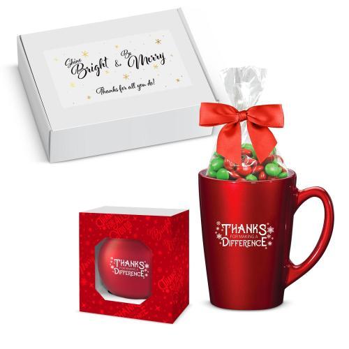 Making a Difference Mug & Ornament Gift Box
