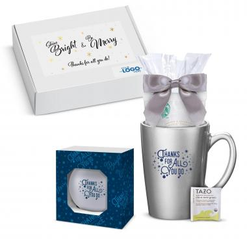 Thanks for All You Do Mug & Ornament Gift Box