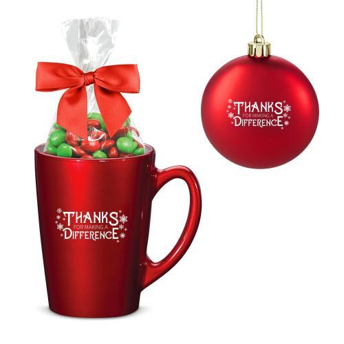 Making a Difference Metallic Mug Holiday Set