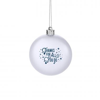 Thanks for All You Do Holiday Ornament