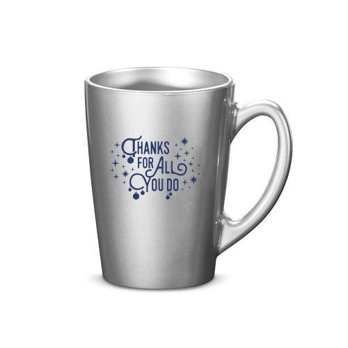 Thanks for All You Do 11oz. Metallic Holiday Mug